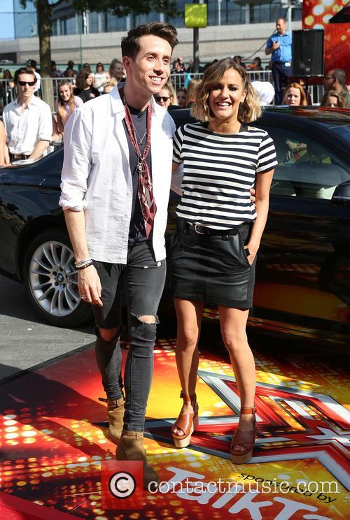 Nick Grimshaw and Caroline Flack 5