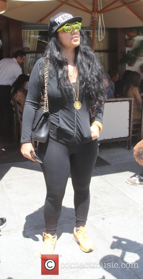 Asa Soltan Rahmati goes shopping in Beverly Hills