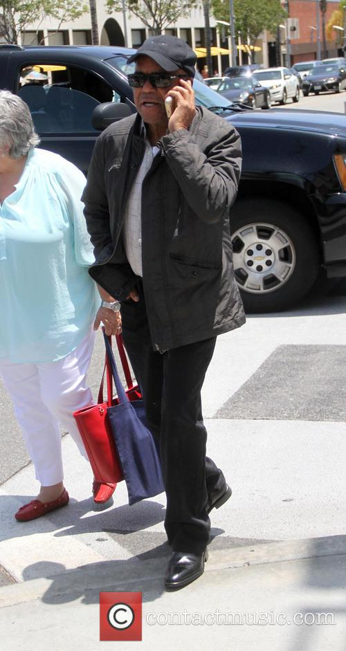 Berry Gordy goes shopping in Beverly Hills