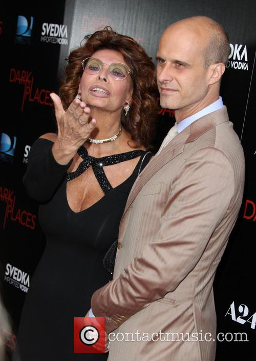 Sophia Loren and Edoardo Ponti