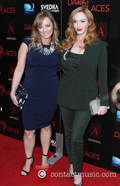 Jennifer Pierce Mathus and Christina Hendricks 3