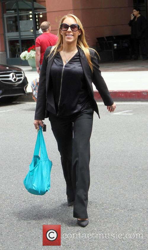 Jenn Berman out shopping in Beverly Hills