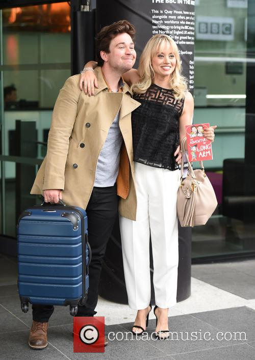 Kimberly Wyatt and Sam Nixon 6