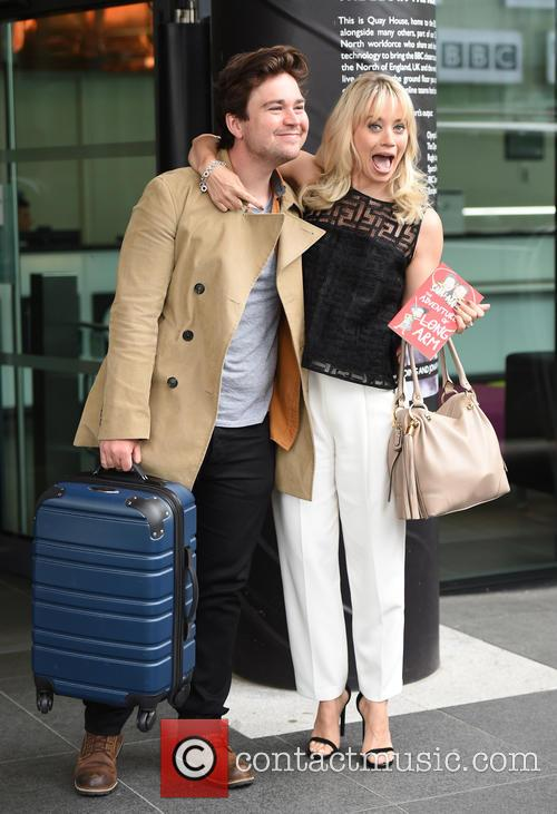 Kimberly Wyatt and Sam Nixon 7