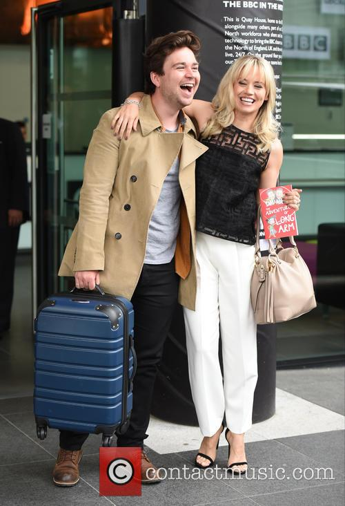 Kimberly Wyatt and Sam Nixon 8