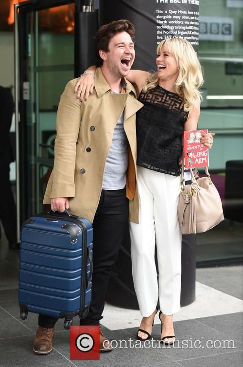 Kimberly Wyatt and Sam Nixon 9