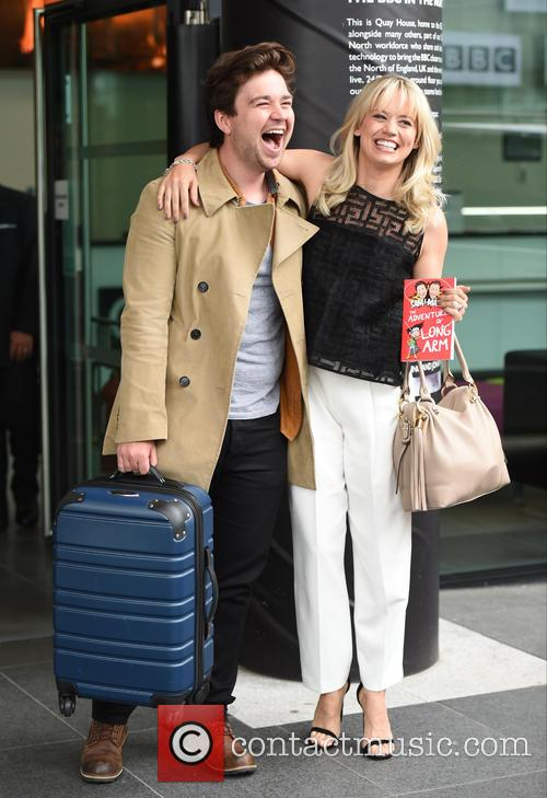 Kimberly Wyatt and Sam Nixon 10