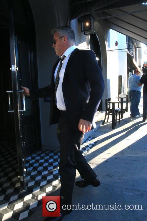 Matt LeBlanc arriving at Craig's Restaurant
