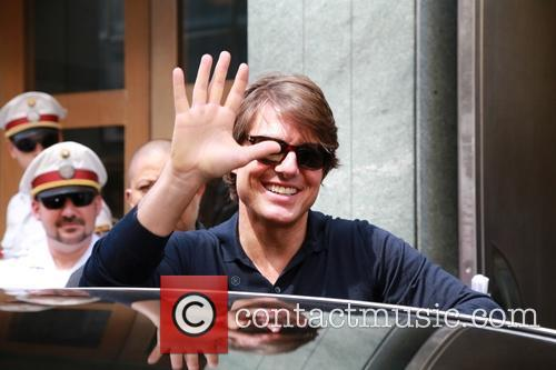 Tom Cruise arrives in Vienna for the world...