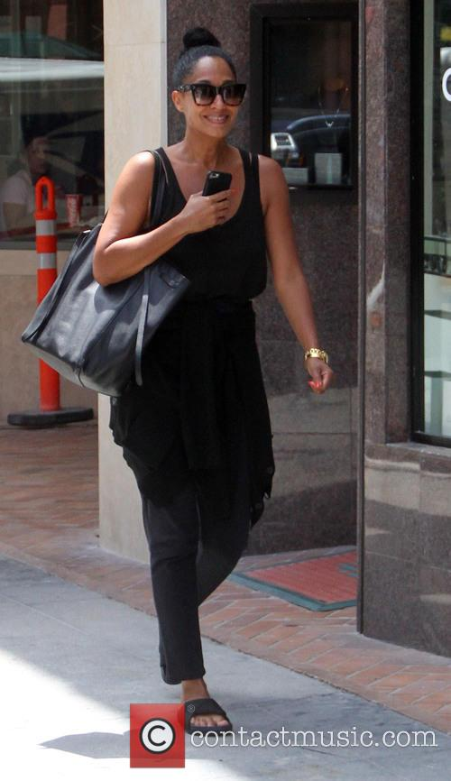 Tracee Ellis Ross goes shopping in Beverly Hills