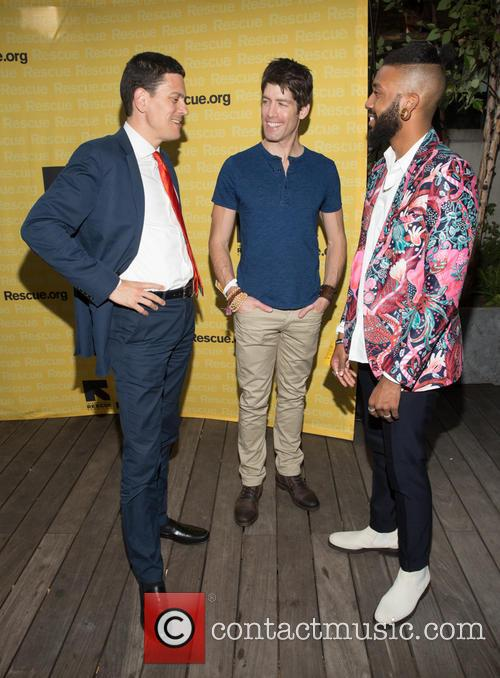 David Milliband, Brad Raider and Chef Kpe 3
