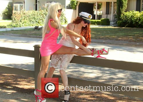 Frenchy Morgan and Phoebe Price 6