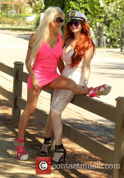 Frenchy Morgan and Phoebe Price 7