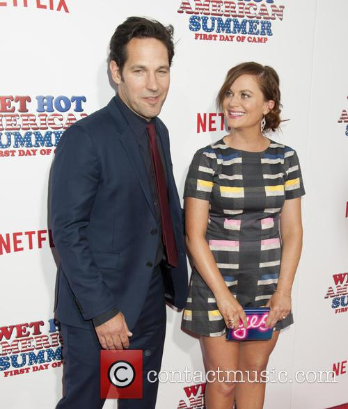 Paul Rudd and Amy Poehler 1