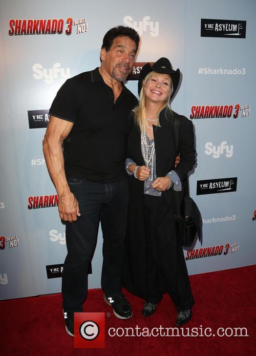 Lou Ferrigno and Julie Mccullough