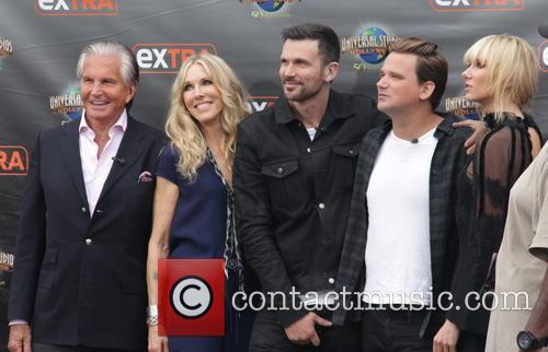 George Hamilton, Alana Stewart, Ashley Hamilton, Sean Stewart and Kimberly Stewart 5