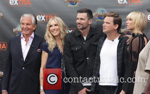 George Hamilton, Alana Stewart, Ashley Hamilton, Sean Stewart and Kimberly Stewart 6