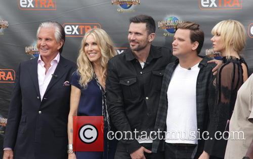 George Hamilton, Alana Stewart, Ashley Hamilton, Sean Stewart and Kimberly Stewart 7