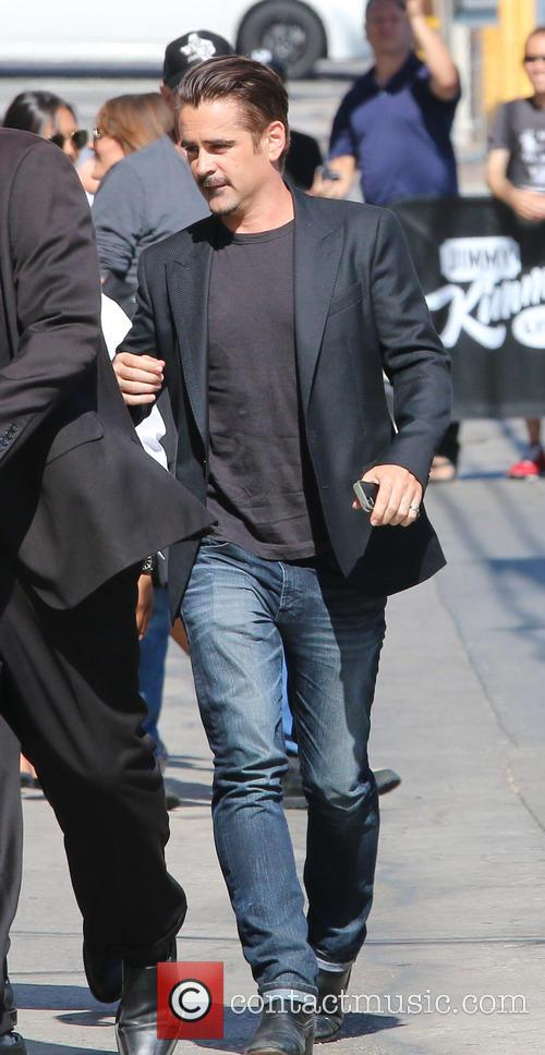 Colin Farrell  arriving for the Jimmy Kimmel...