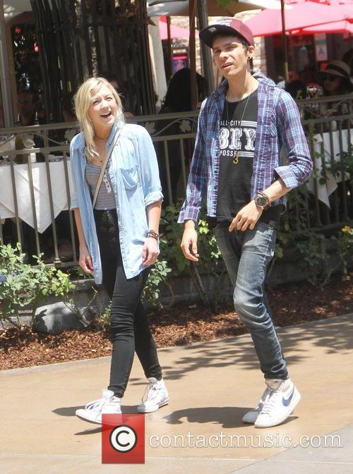 Emily Kinney goes shopping at The Grove