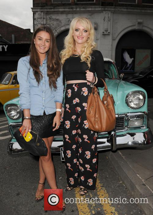 Brooke Vincent and Katie Mcglynn 2