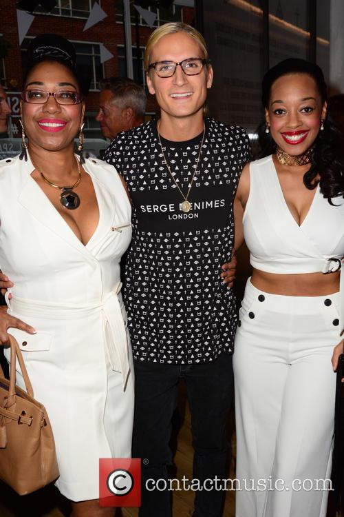 Judge Geordie, Oliver Proudlock and Imani Evans 2