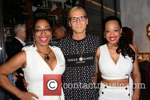 Judge Geordie, Oliver Proudlock and Imani Evans 3