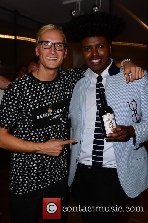 Oliver Proudlock and Prince Cassius 9