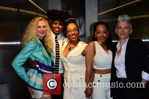 Tamara Dumas, Prince Cassius, Judge Geordi, Imani Evans and Guest 3
