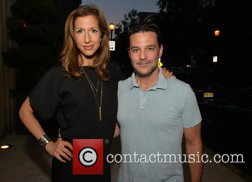 Alysia Reiner and David Alan Basche 2