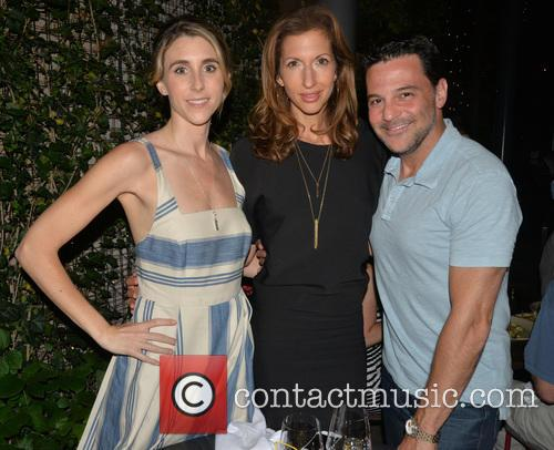 Sarah Megan Thomas, Alysia Reiner and David Alan Basche 1