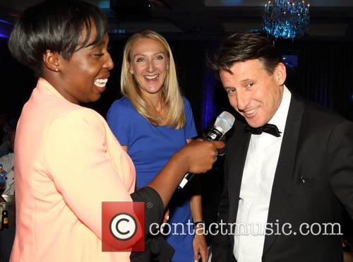 Jeanette Kwakye, Paula Radcliffe and Sebastian Coe 2