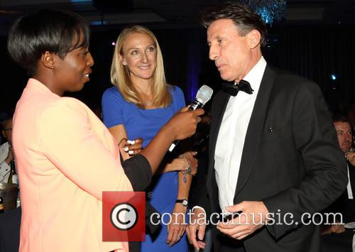 Jeanette Kwakye, Paula Radcliffe and Sebastian Coe 1