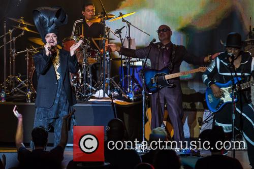 Boy George and Culture Club 8