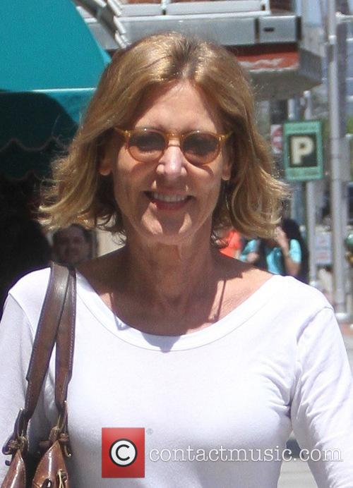 Christine Lahti goes shopping in Beverly Hills