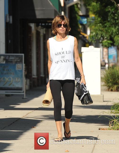 Lisa Rinna out in Los Angeles