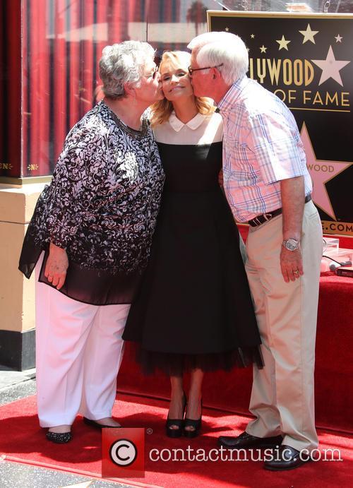 Junie Chenoweth, Kristin Chenoweth and Jerry Chenoweth 2