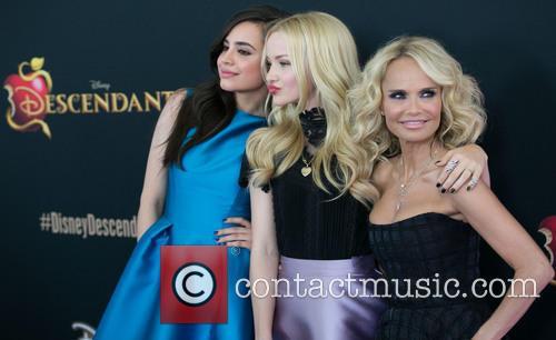 Sofia Carson, Dove Cameron and Kristin Chenoweth 8
