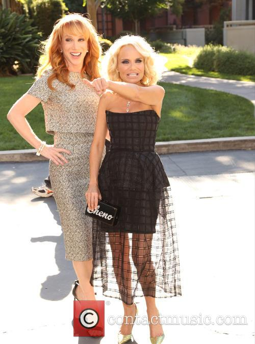 Kathy Griffin and Kristin Chenoweth 5