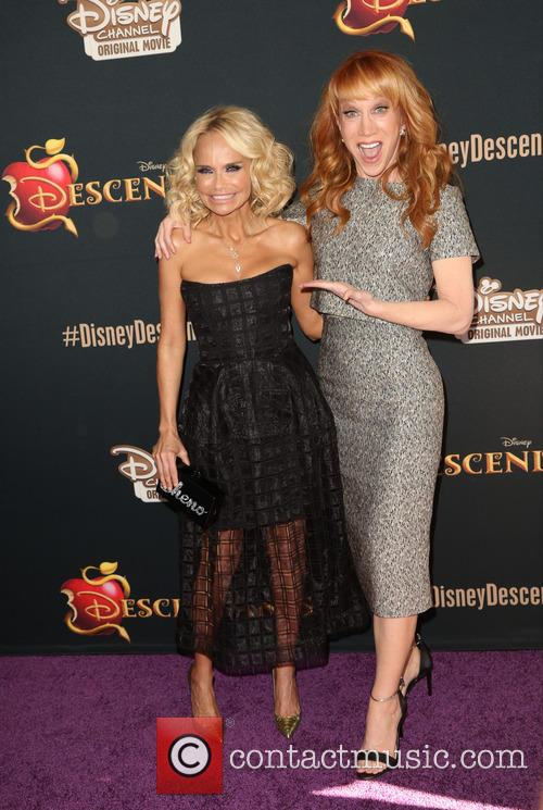 Kristin Chenoweth and Kathy Griffin 7
