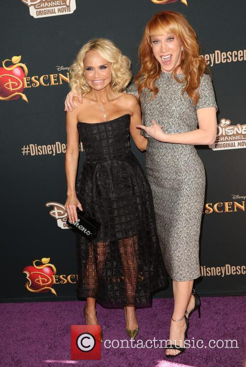 Kristin Chenoweth and Kathy Griffin 8