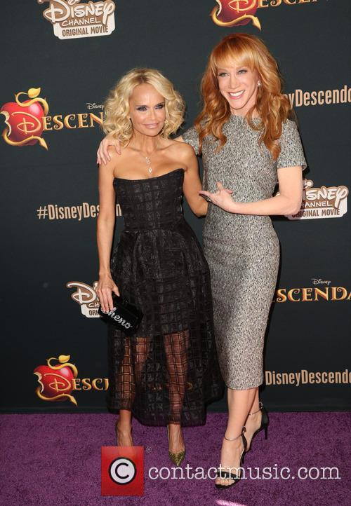 Kristin Chenoweth and Kathy Griffin 9