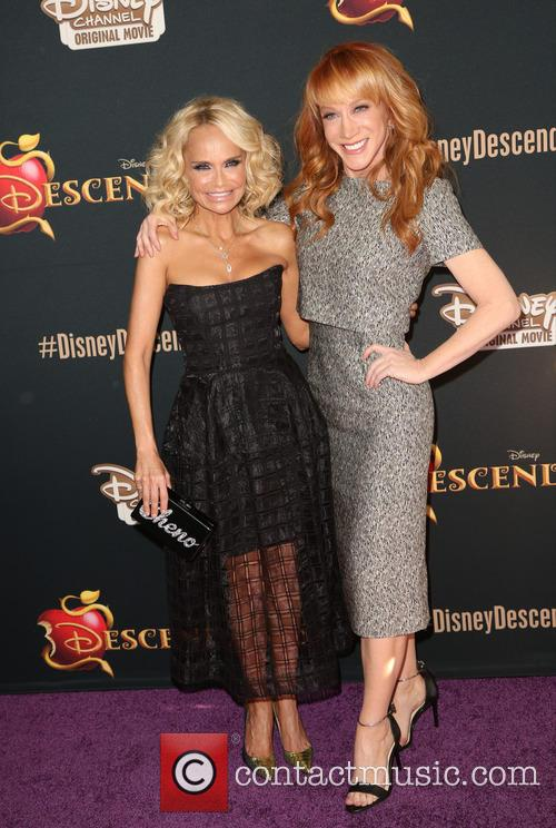 Kristin Chenoweth and Kathy Griffin 10