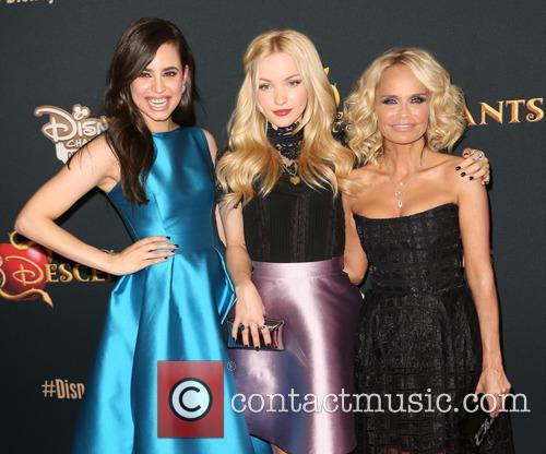Sofia Carson, Dove Cameron and Kristin Chenoweth 4