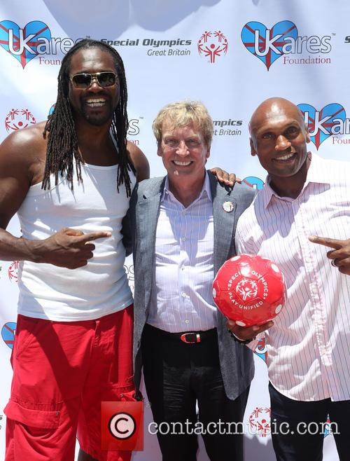 Audley Harrison, John Lythgoe and Mark Rhino Smith 3