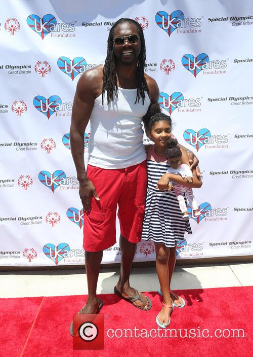 Audley Harrison and Daughter 7