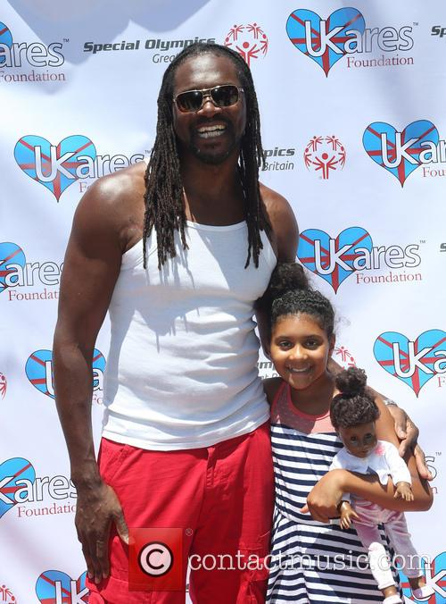 Audley Harrison and Daughter 8
