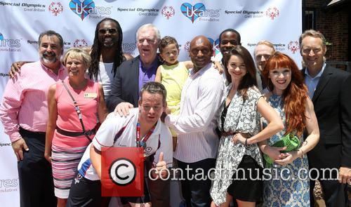 Audley Harrison, John Lythgoe, Mark Rhino Smith, Lloyd Crawley, Chris O'connor, Camilla Dallerup, Ruth Connell and Chiké Okonkwo 9