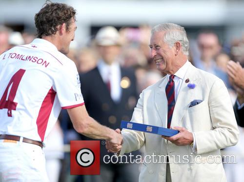 Luke Tomlinson and Charles Prince Of Wales 2