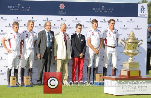Max Charlton, Mark Tomlinson, Luke Tomlinson, James Beim and Charles Prince Of Wales 3
